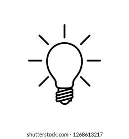 Bulb icon design collection