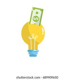bulb idea with bill cash money