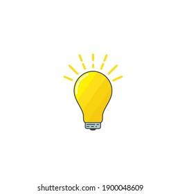 bulb idea,creative, concept illustration vector