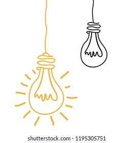 bulbs lights ideas icons
