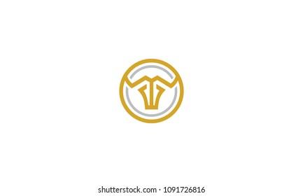 bull abstract vector logo