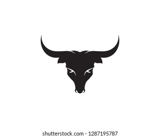 Bull horn logo and symbols template icons app