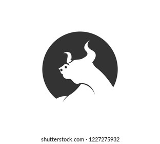 bull logo designs
