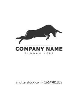 Bull Logo Template vector Illustration