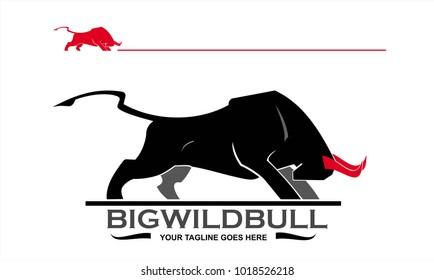 bull, bull mascot, bull logo