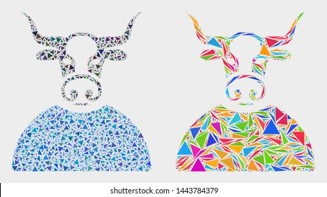 Imagenes Fotos De Stock Y Vectores Sobre Bull Vector Geometric