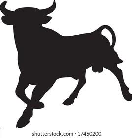 bull, vector