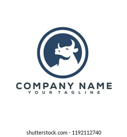 Bull Vector Graphic Template Download Modern