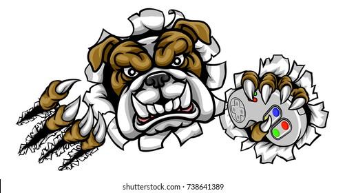 gamer dog images stock photos vectors shutterstock