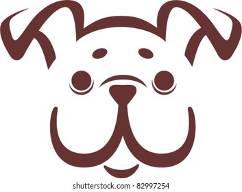 bulldog, logo design