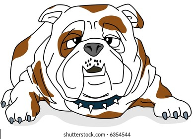 Bulldog-vector