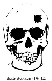 Bullet Hole Head Stock Illustrations Images Vectors Shutterstock Download this free vector about hand drawn skull with helmet and glasses, and discover more than 8 million professional graphic resources on freepik. https www shutterstock com image vector bullet hole skull vector illustration 1984111