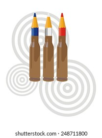 bullet pencil