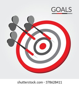 Bulls Eye Goal Target