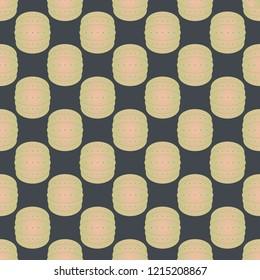 Bumper ball or bamperball football equipment seamless pattern for background.