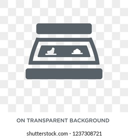 bun warmer icon. bun warmer design concept from Kitchen collection. Simple element vector illustration on transparent background.