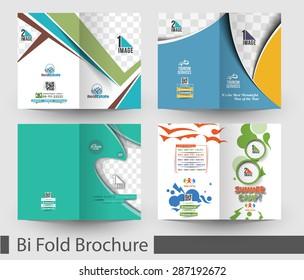 Bundle of Bi-Fold Mock up & Brochure Design