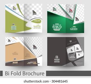Bundle of Bi-Fold Mock up & Brochure Design.