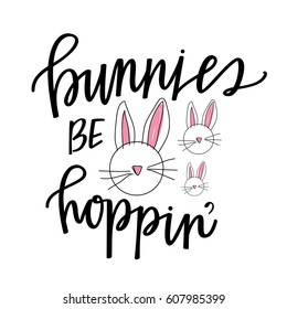 Bunnies be hopping