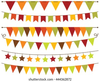 Bunting Flags Thanksgiving / Fall / Autumn