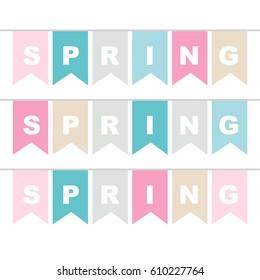 Bunting spring
