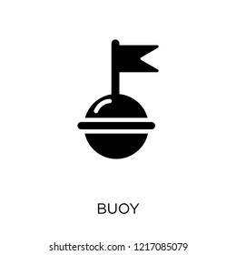 Buoy icon. Buoy symbol design from Nautical collection. Simple element vector illustration on white background.