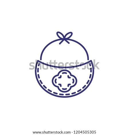 a52aa7bc94e Burb Cloth Line Icon Clothes Concept Stock Vector (Royalty Free ...