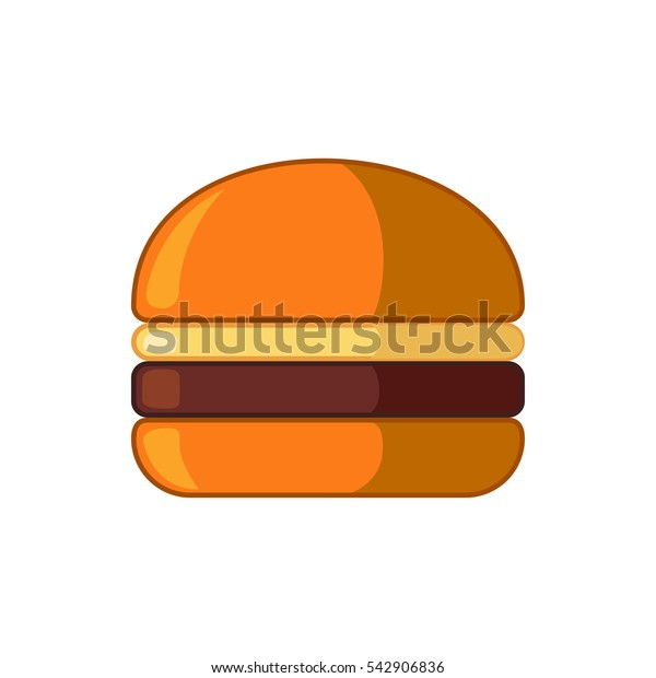 burger icon illustration isolated vector sign symbol