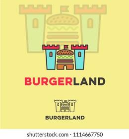 Burger land logo