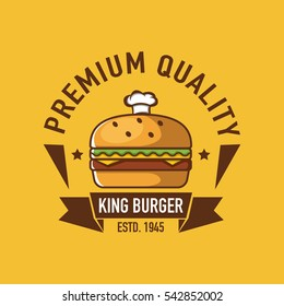 Burger logo, Fast food logo, burger cartoon