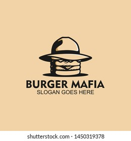 burger mafia logo , vintage burger mafia logo