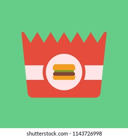 burger package icon