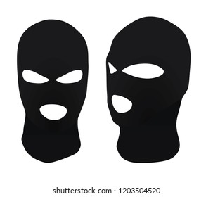 Burglar hat. vector illustration
