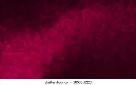 Burgundy polygonal background. Vector illustration. Follow other polygonal backgrounds in my collection.