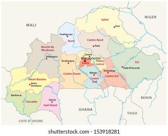 Ghana Region Map Images Stock Photos Vectors Shutterstock