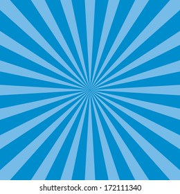 Burst vector background - Blue