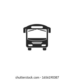 bus icon vector sign isolated for graphic and web design. bus symbol template color editable on white background.