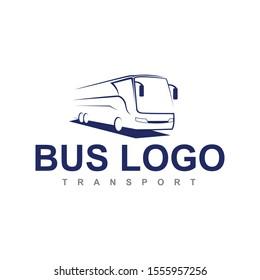 bus logo icon vector design illustration template
