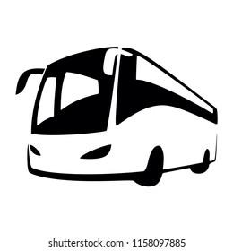 bus logo vector