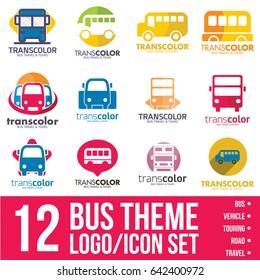 bus logo/icon bundle