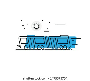 Bus Metrobus Transportation Pıctogram