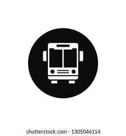 Bus rounded icon