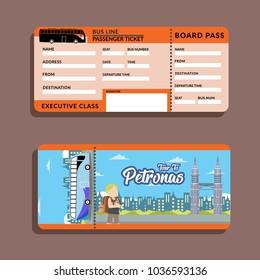 Bus Ticket Tour To Petronas