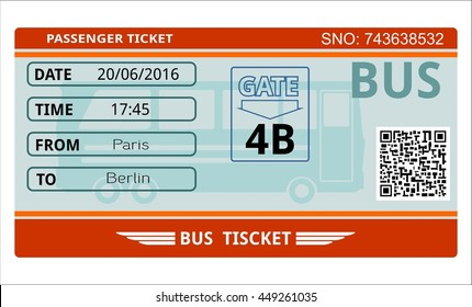 bus ticket transport tourism traffic pass seat admission coupon tour