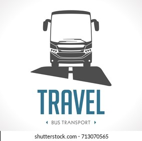Bus transport logo