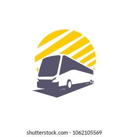 bus transportation icon design