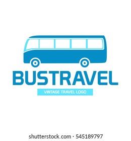 Bus travel logo