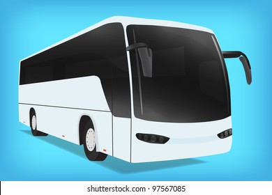 Bus, vector, 10eps.