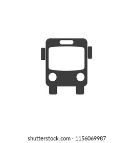 Bus Vector Icon, Eps10