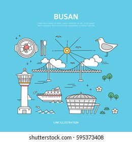 Busan line layer set